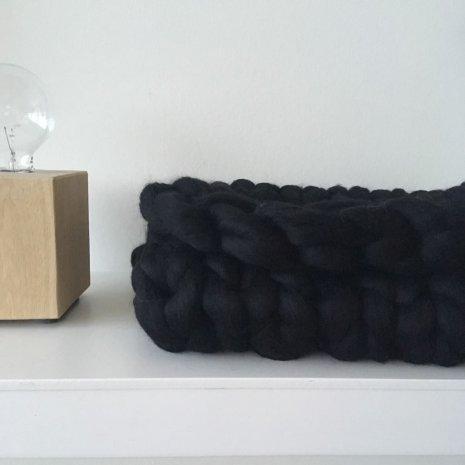 Knit Zwart