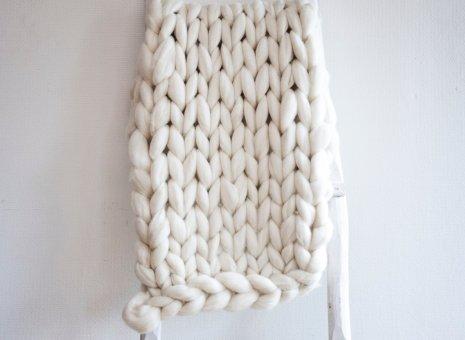 Knit White